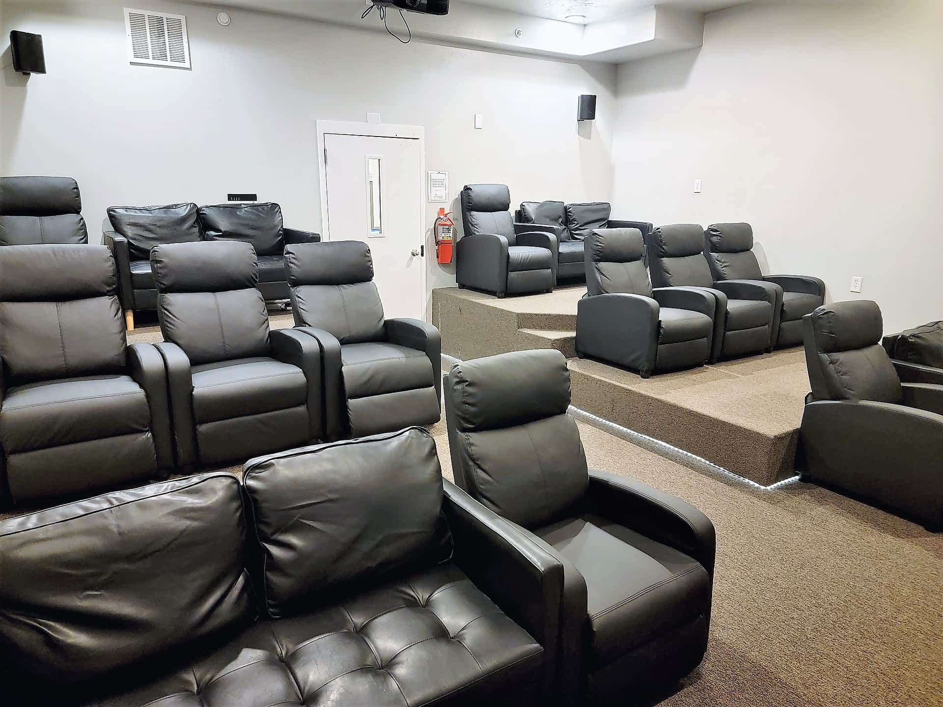 BYUI - Approved Mens Housing - Theater Room at Pinnacle Point Apartments