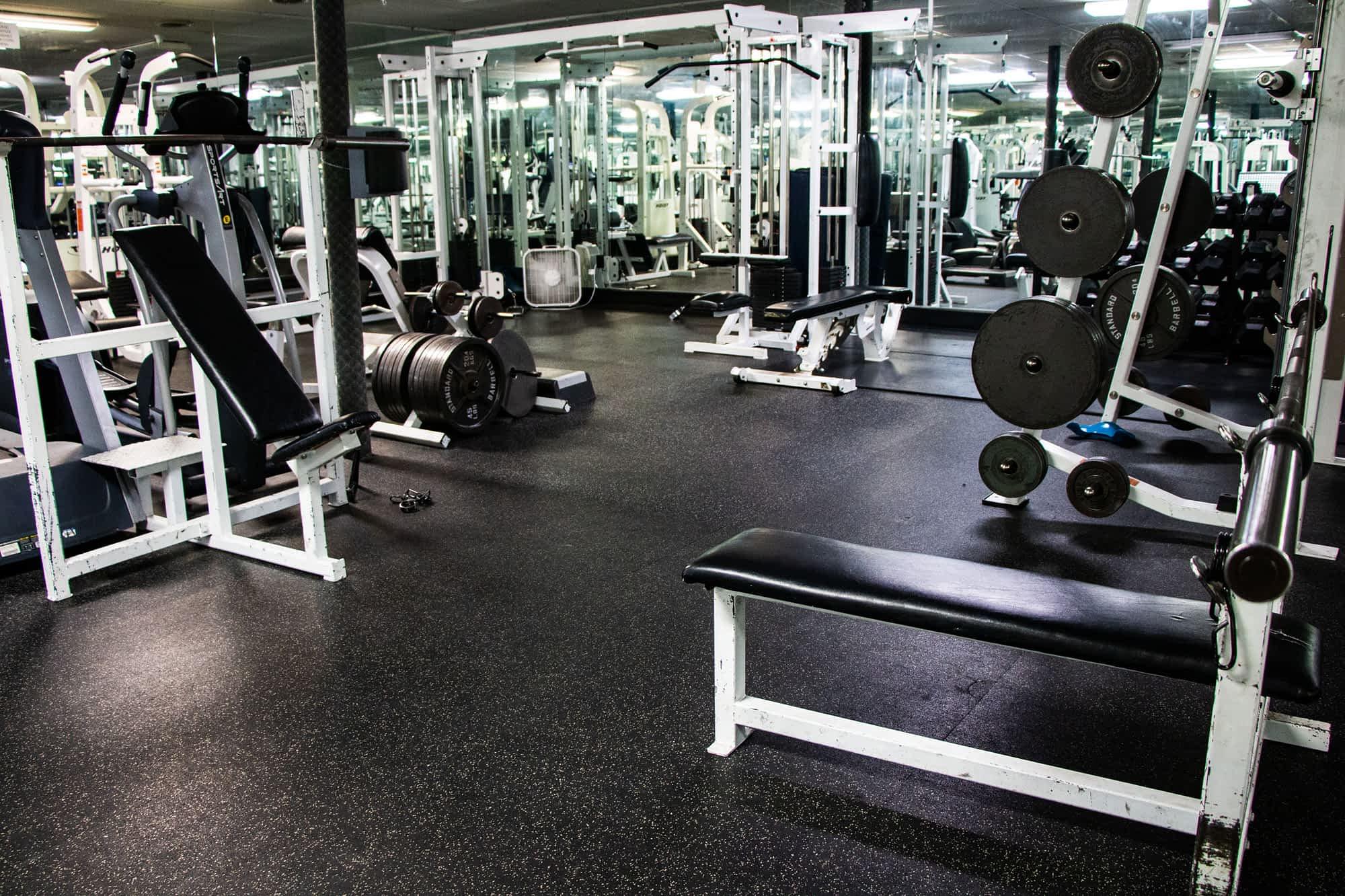 Rexburg Student Housing gym