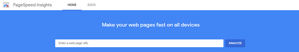 Google PageSpeed Insights for How to Improve Website Load Time
