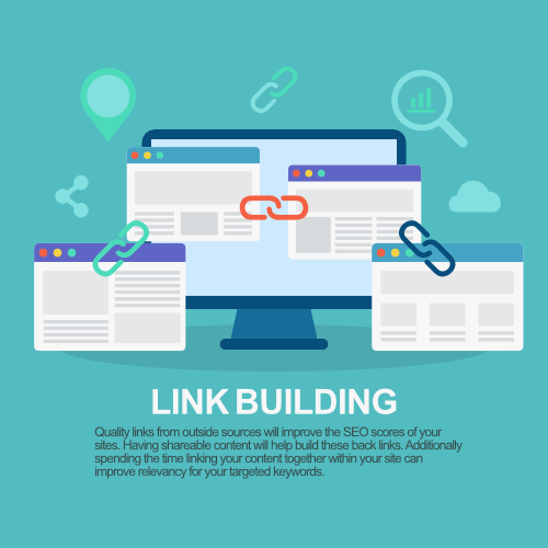 Internal links help users to navigate your sites content.sites presence on search engines.