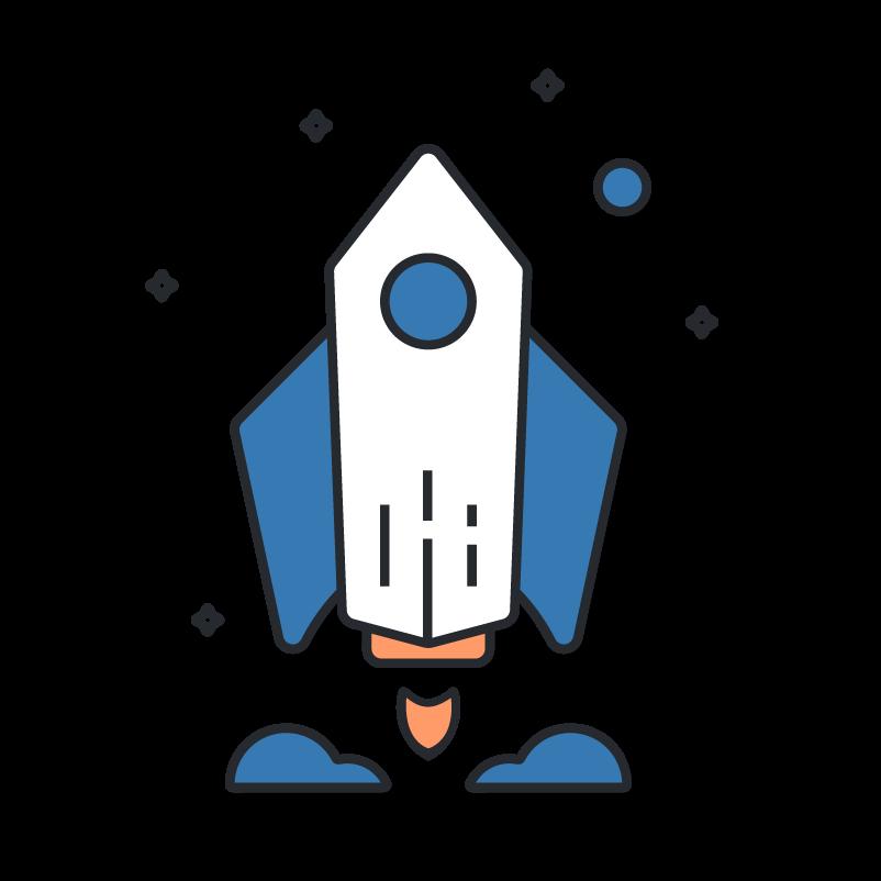 Launch a marketing campaign rocket