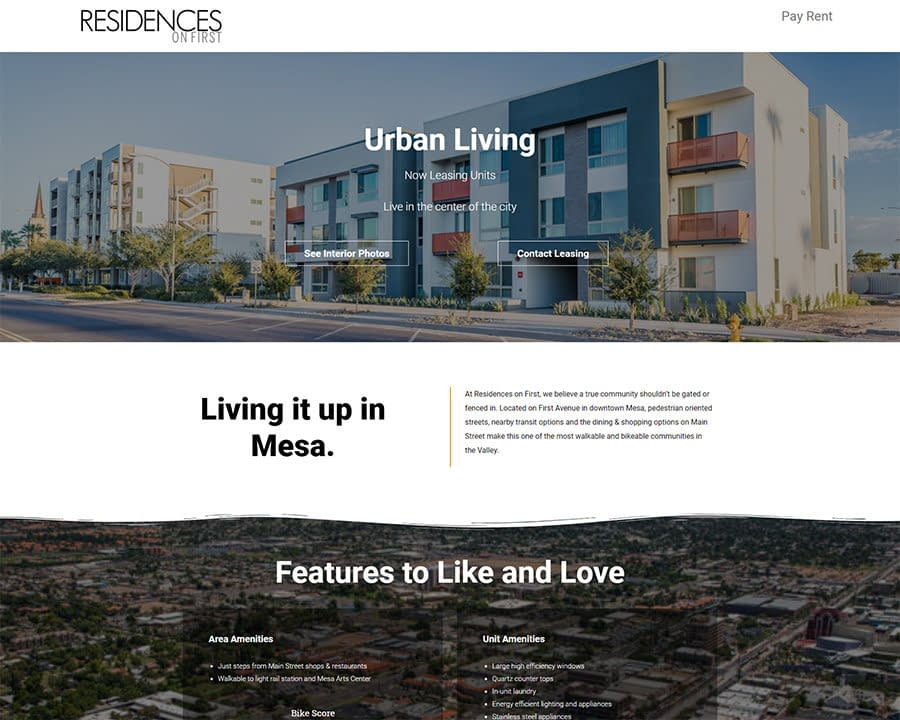 Property Digital Marketing and We design Example