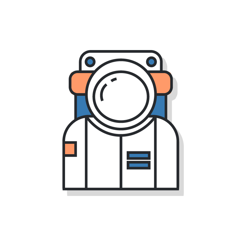 Know your audience astronaut